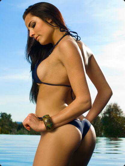 midnight blue brazilian cut bikini