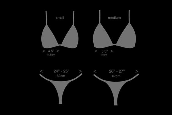 micro bikini sizing