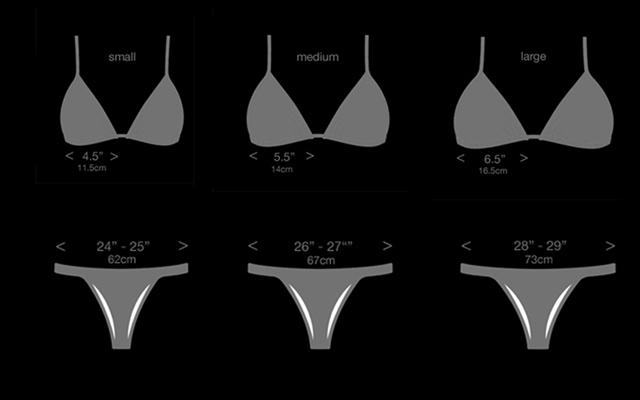 brazilian bikini sizing