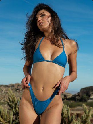 high cut ultra marine brazilian bikini