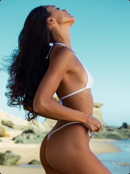 white tie side micro bikini