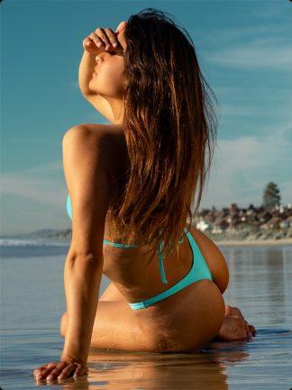 marine thong bikini